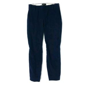 J Crew cropped Minnie pants in stretch twill